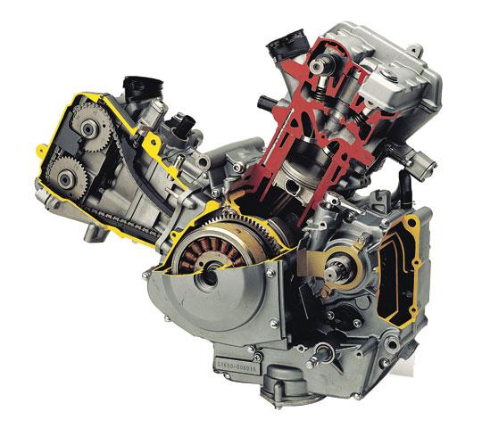 Hyosung 650 Engine Motor