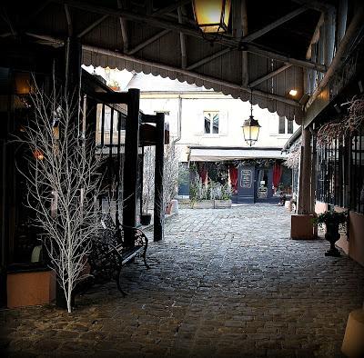 Quartier des Antiquaires à Versailles