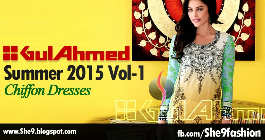 Complete Catalog/Magazine of Gul Ahmed Summer 2015