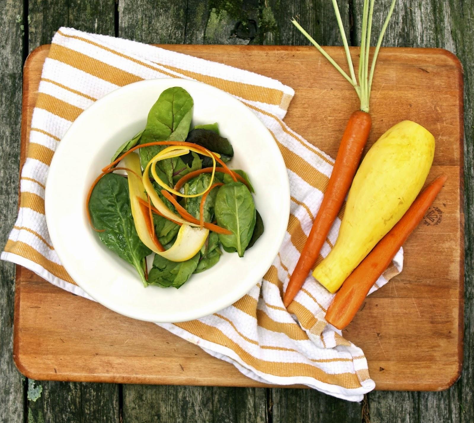 Vanilla Vegetable Salad- simplelivingeating.com
