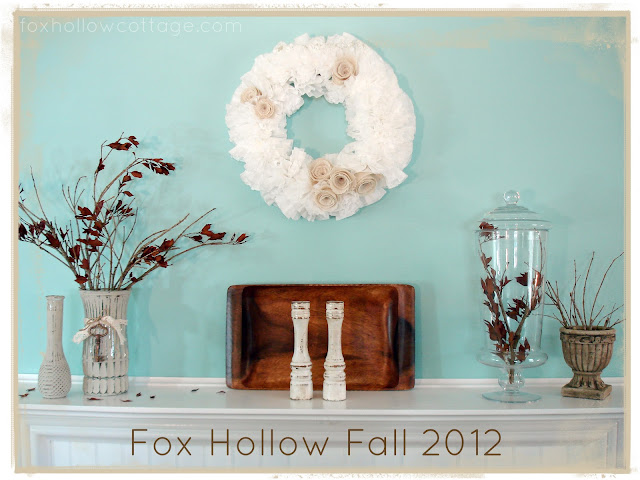 fall+mantel+8 Fall mantel decorating ideas {Features}