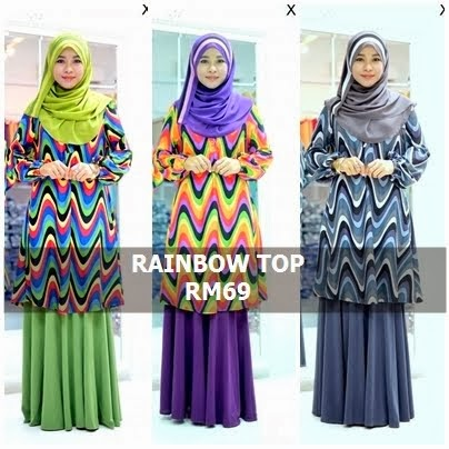 RAINBOW TOP | Y.E.S RM59 NOW!