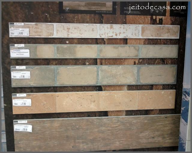 modelos de revestimentos brick da portinari