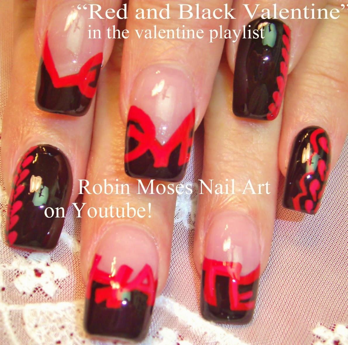 Robin moses nail art cupid nails valentines day nails heart cupid nails valentines day nails heart nails ekg nails black lace nails black hearts black heart nails anti valentine i hate valentines prinsesfo Images