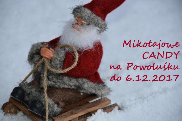 Mikołajowe cukieraski u Aldony:)