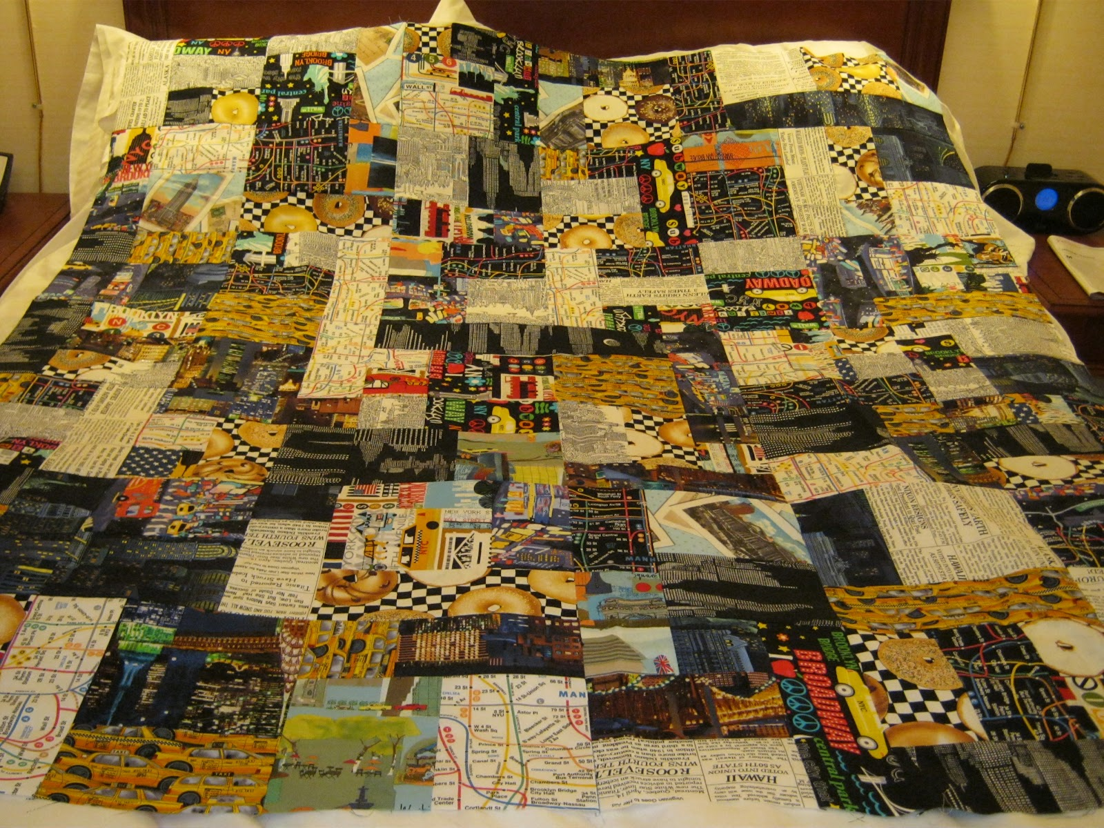 PugMom Quilts!: New York City Quilts! : new york city quilt - Adamdwight.com