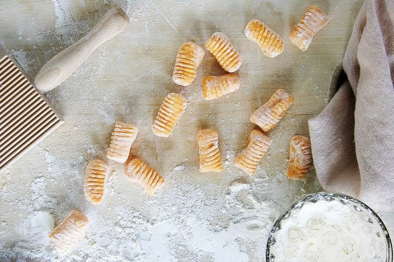 Fabuloso menú de otoño con recetas y productos de temporada: ñoquis de boniato