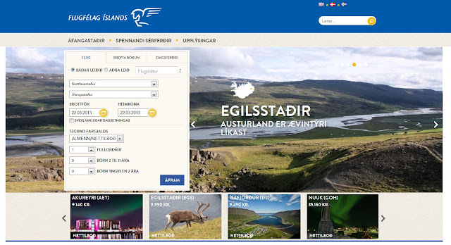 Air Iceland, new web site and IBE delivered by ezy