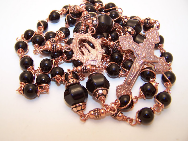 No. 125.  New! Rosary Of Our Lady Of La Salette- Copper Collection