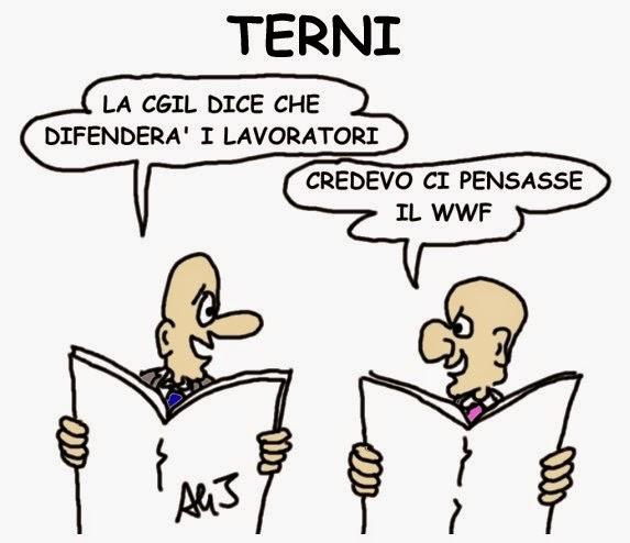 AST Terni, cgil