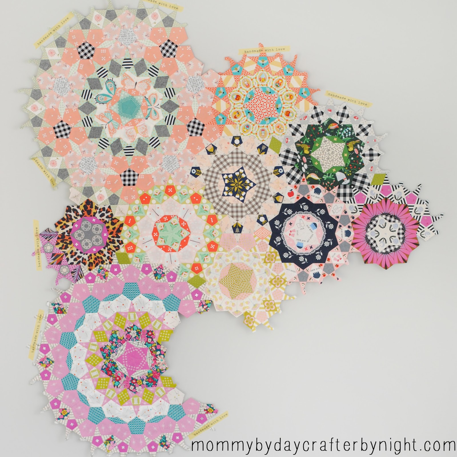 picture relating to Free Printable English Paper Piecing Templates titled Mommy by way of working day Crafter via evening: 6 Need to Consist of Applications for English