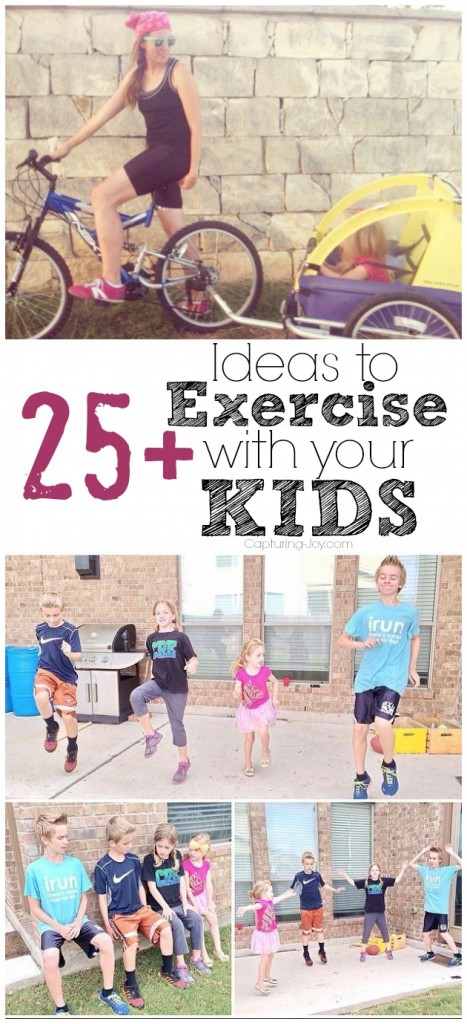 Exercise Ideas for the Whole Family