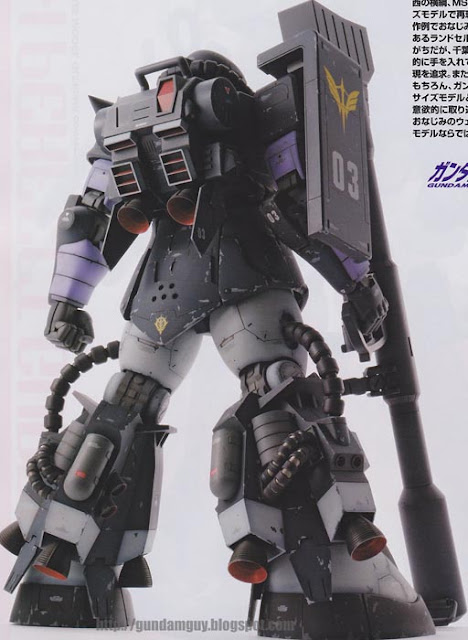 MS-06R-1A Zaku II [Black Tri-Star Use]
