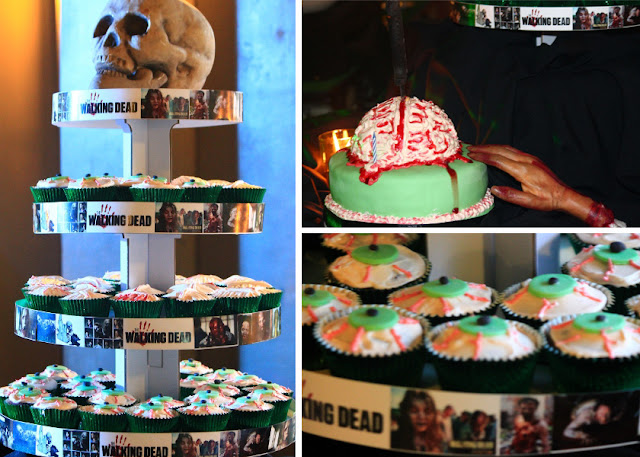 Walking Dead Cakes and Cupcakes