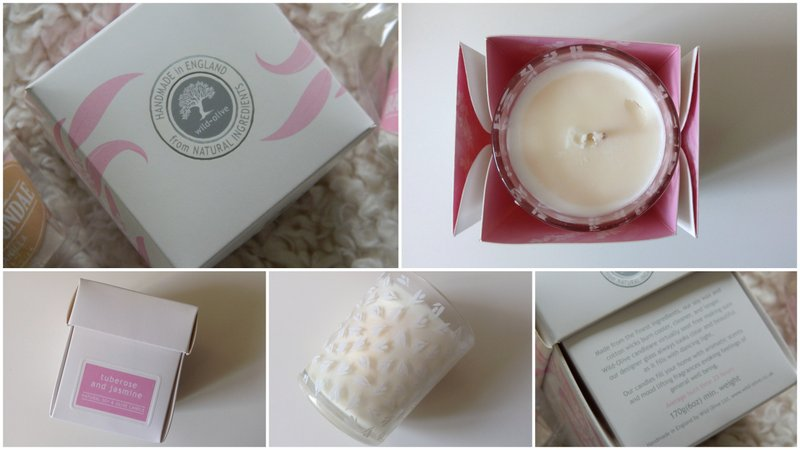 Review: Wild Olive Tuberose & Jasmine Candle