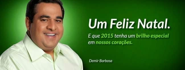 """Um Feliz Natal"" Demir Barbosa"