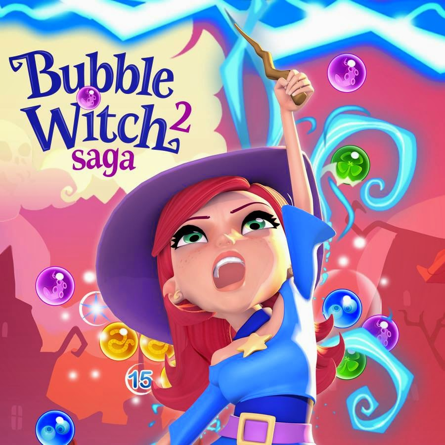 Bubble Witch Saga 2 livello 591-600