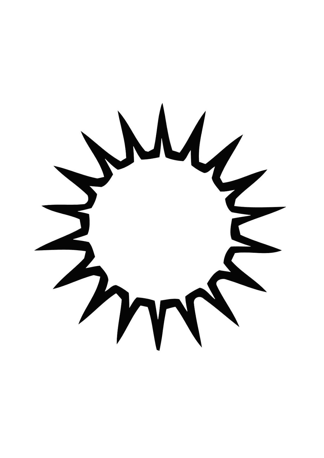 colorear dibujo sol: