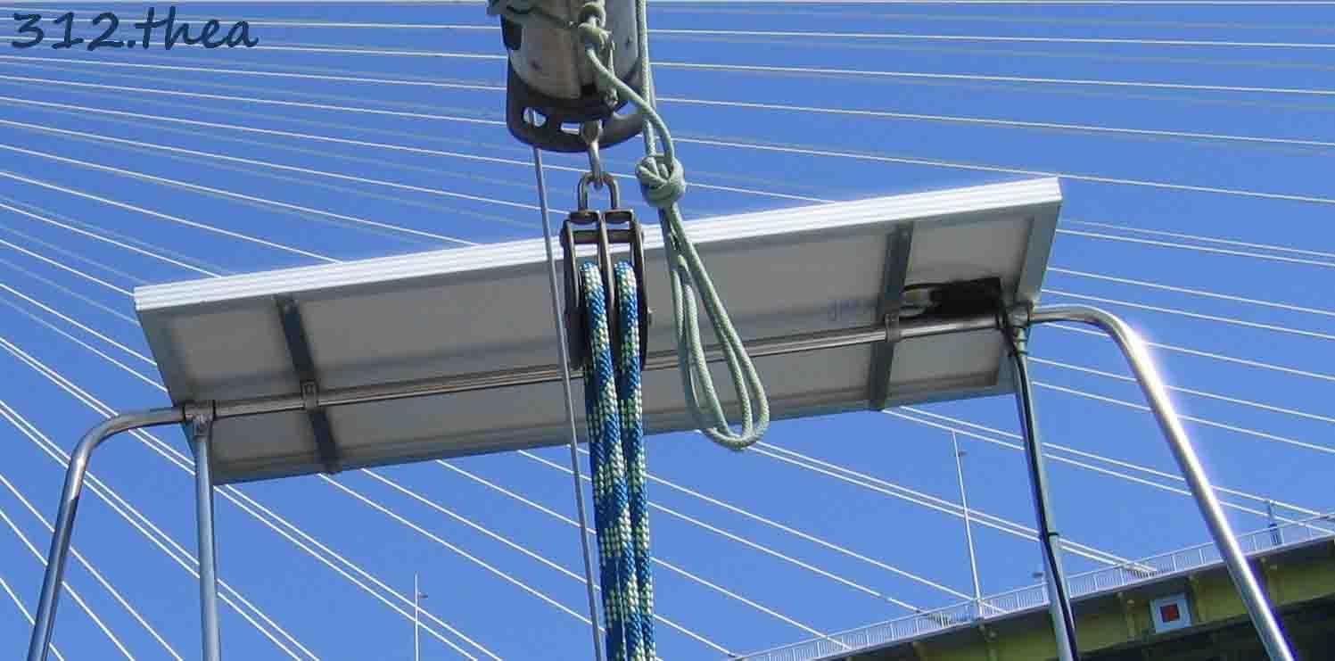 Kit Pannello Solare Barca : Thea pannello solare alpa