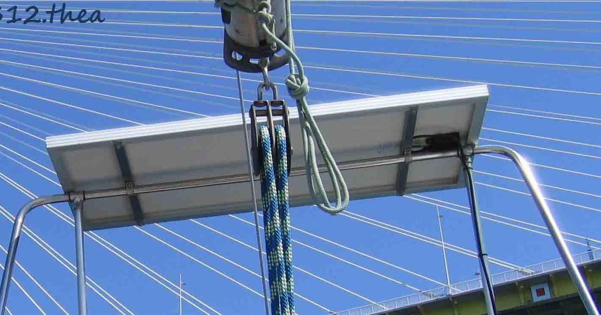 Pannello Solare Da Barca : Thea pannello solare alpa