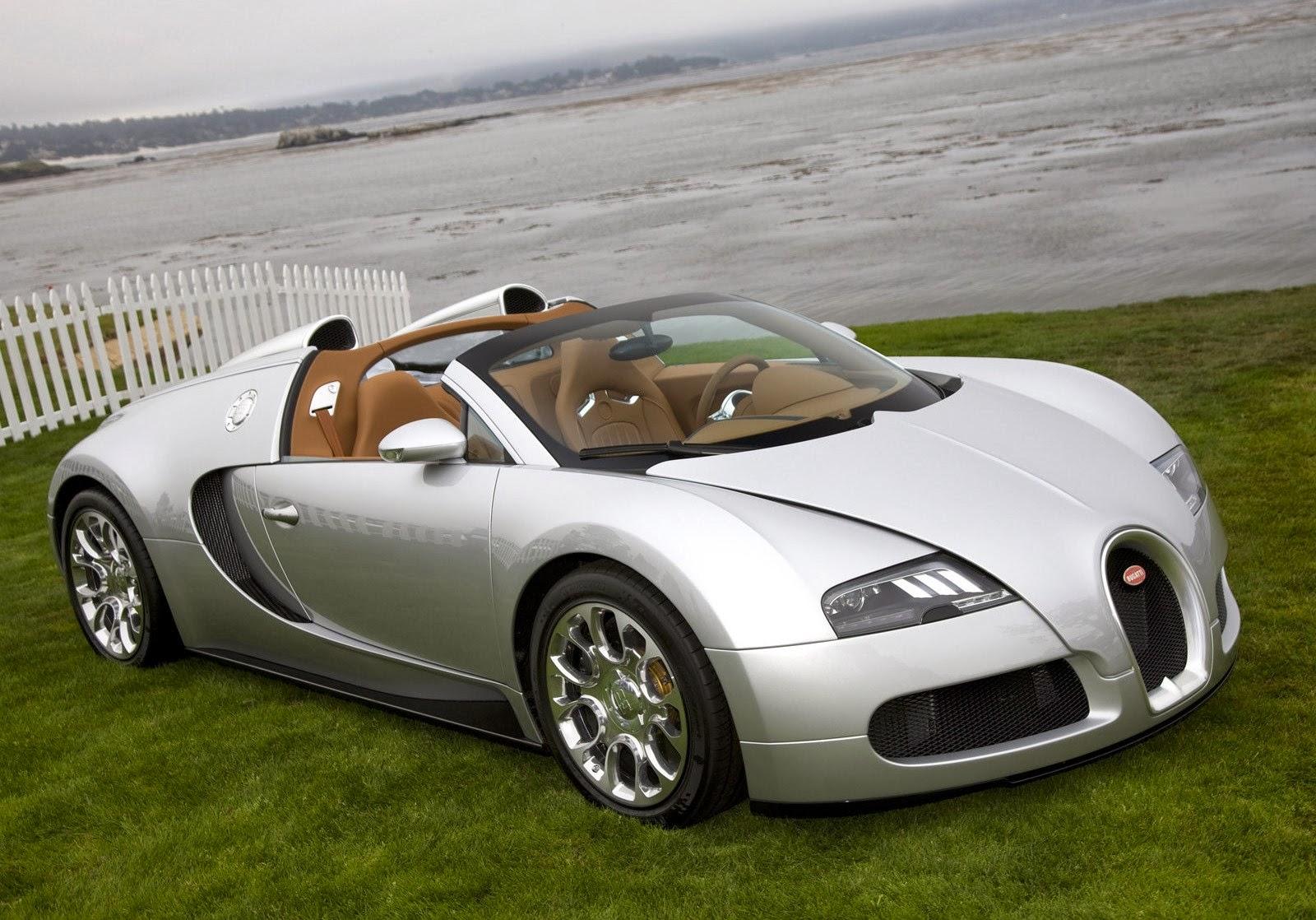 Bugatti Veyron 16.4 Grand Sport Green 2014 Wallpaper