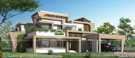 October 2015 kerala home design and floor plans for Unique modern house designs