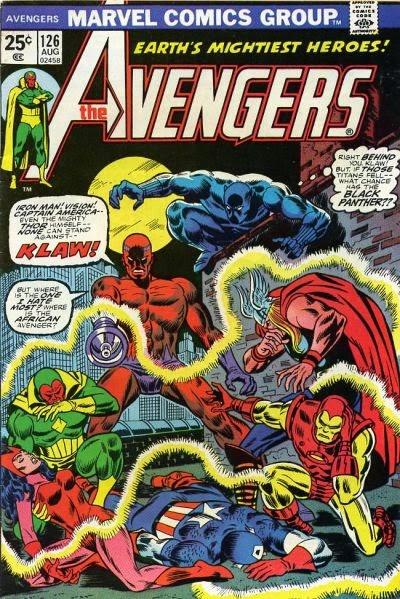 Avengers #126, Klaw