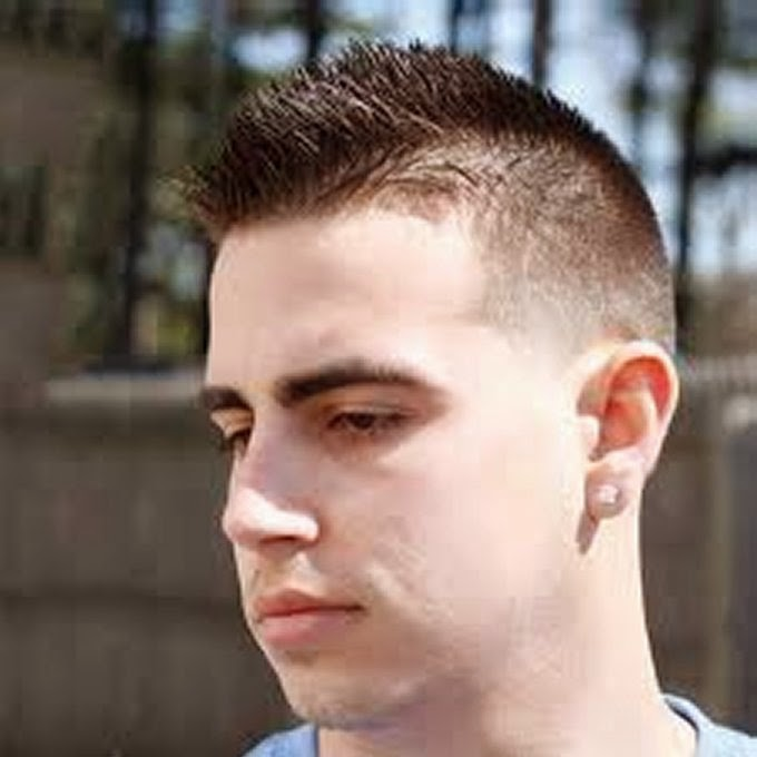 Trendy Military Haircuts For Men Part Hairstyles - Army cut hairstyle 2014