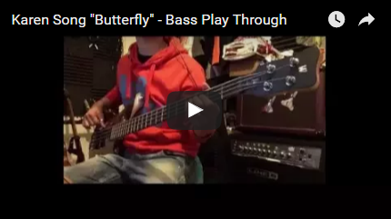"Karen Song ""Butterfly"" - Bass Play Through"