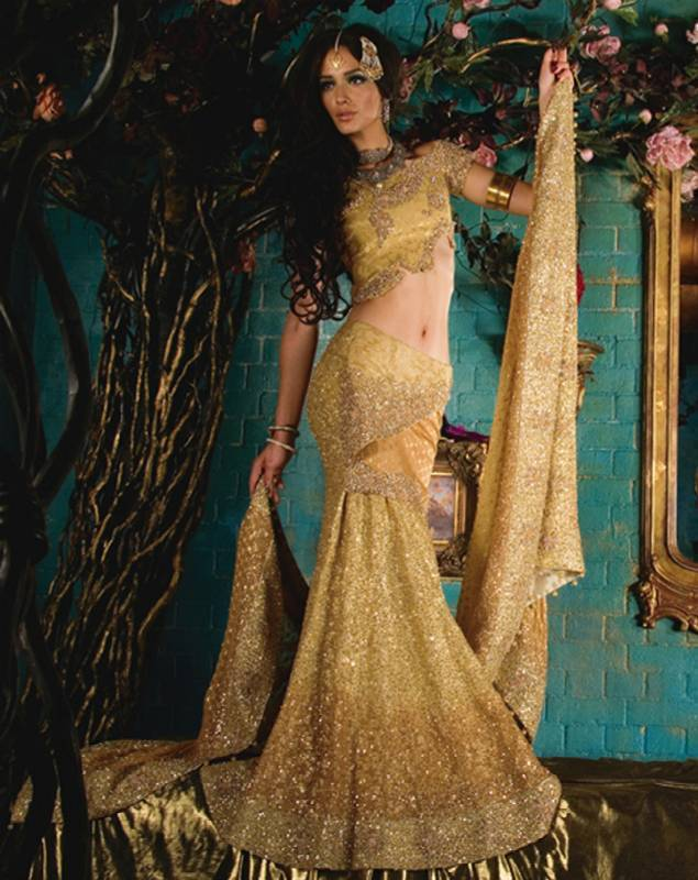 Indian wedding dresses hairstyles updates for Punjabi wedding dresses online