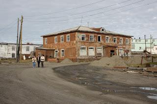 Посёлок Амдерма. Ненецкий автономный округ.