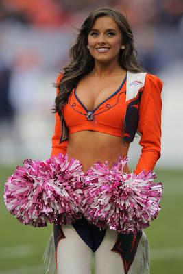 Glamorous Girls Denver Broncos Hot Cheerleaders