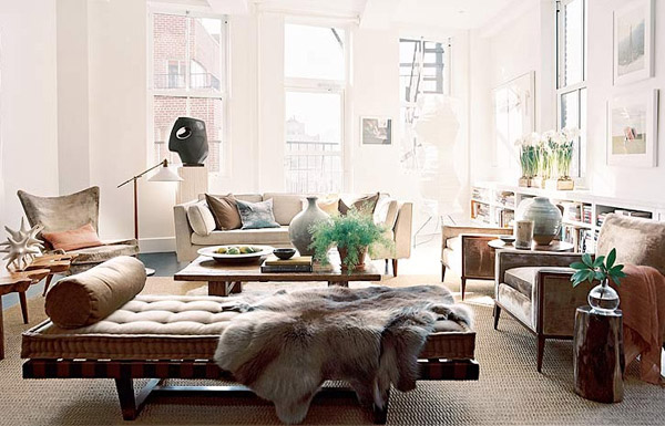 Eclectic contemporary for Different living room styles