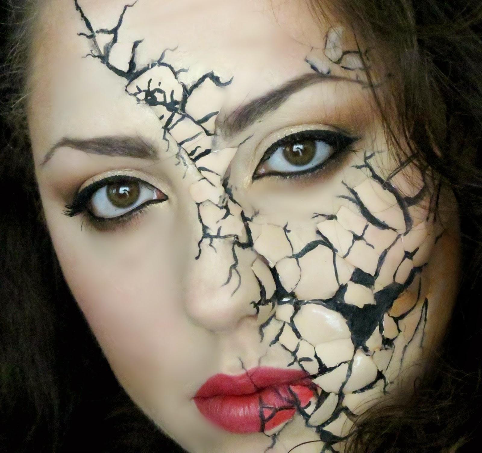 Makeup Tumblr,halloween