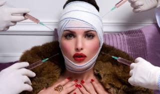 Wanita Cantik Korban Kegagalan Operasi Plastik