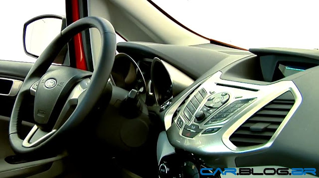Novo Ford EcoSport 2013 - interior