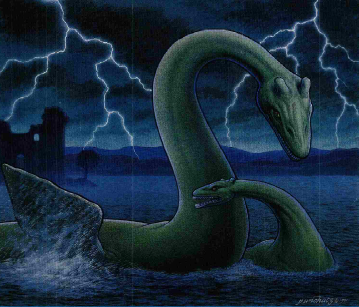 how to find nessie on cryptids island