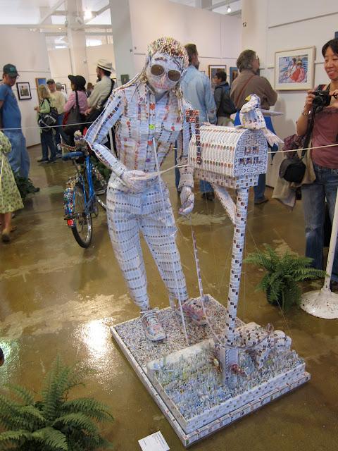 Mary Zubrzycki address label art a Minnesota State Fair