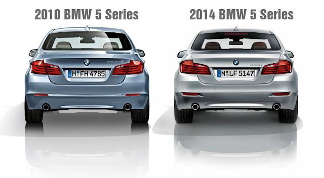 2010 BMW 5 Series vs. 2014 BMW 5 Series