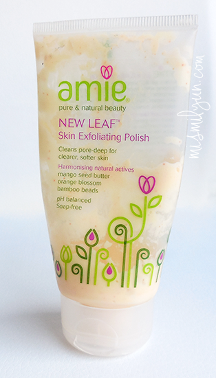 amie new leaf exfoliante
