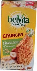 Belvita breakfast biscuit hazelnuts