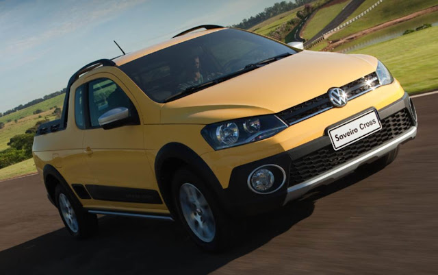Nova Volkswagen Saveiro 2014 Cross