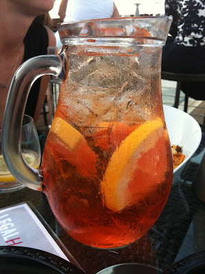 Seaport Spritzer pitcher at Legal Harborside, Boston, Mass.