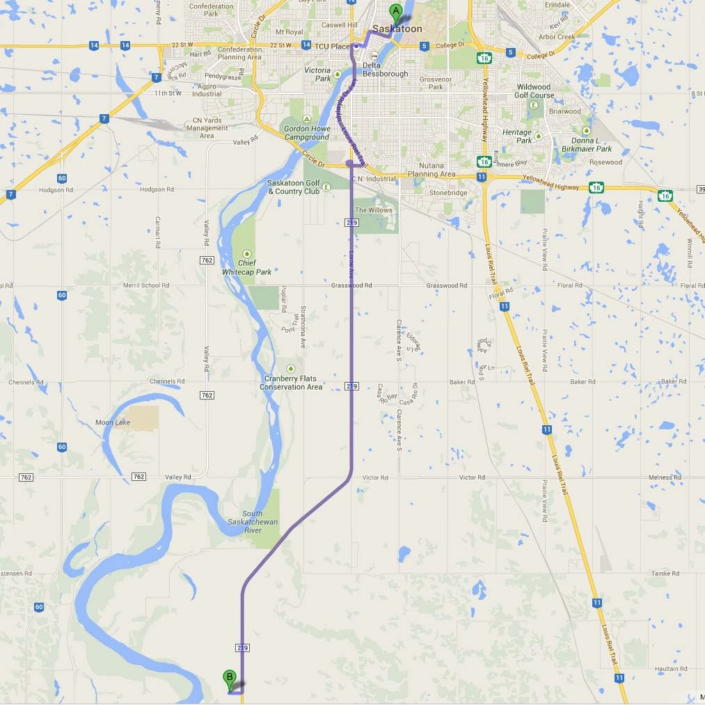 Sask Trail Riders: Ottopo Trails Review on