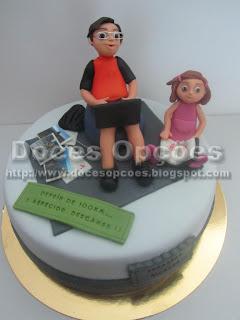 bolos decorados pasta açucar bragança doces opções