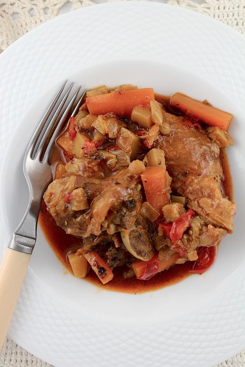 Life's a feast: Lamb Curry – Sautée de Mouton au Curry