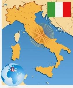 SERIE SISMICA EN CENTRO Y NORTE DE ITALIA, 23 DE ENERO 2015