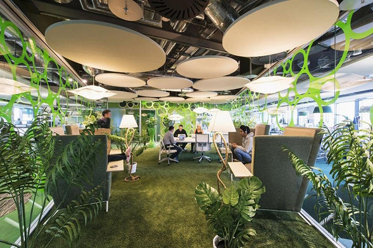 Workplace unlimited emerging trends biophilia performance for Total office design 50 contemporary workplaces