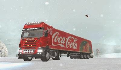 Mod Truck Coca Cola + Gandengan Coca Cola