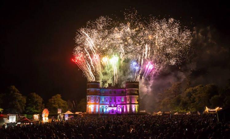 Camp Bestival Fireworks 2015